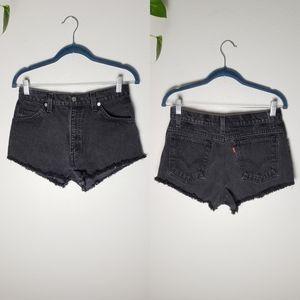 Vintage Levi High Waist Shorts